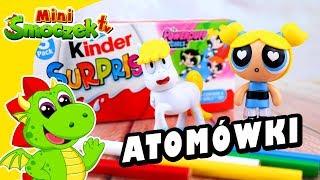 Atomówki Bajka i Jajka Kinder Niespodzianki - Zabawki Bajki Dla Dzieci Po Polsku