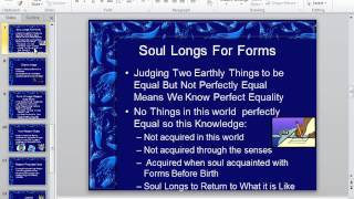 PowerPoint Lecture on Plato