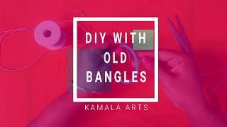 Wall Hanging with Old Bangles !! DIY Wall Hangings