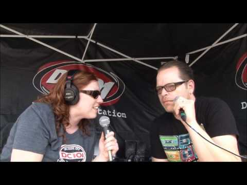 Bailey Talks with Pat Wilson of Weezer at DC101 Chili CookOff 2011