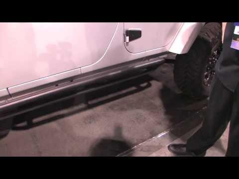 Rampage Retractable Rock Slider/Step Bar