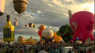 New Mexico Ballon Fest, USA Travel Videos