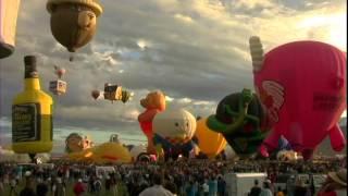 New Mexico Ballon Fest, USA Travel Videos