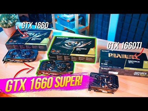 ЗАЧЕМ НУЖНА GTX 1660 SUPER? Сравнение GTX 1660 с 1660 Super и 1660ti! В чём разница и кто лучше?