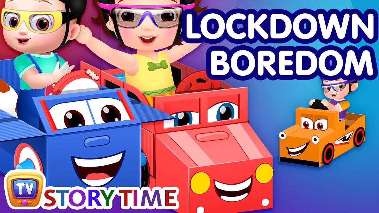 Lockdown Boredom - Part 1 - ChuChuTV Storytime Good Habits Bedtime Stories for Kids