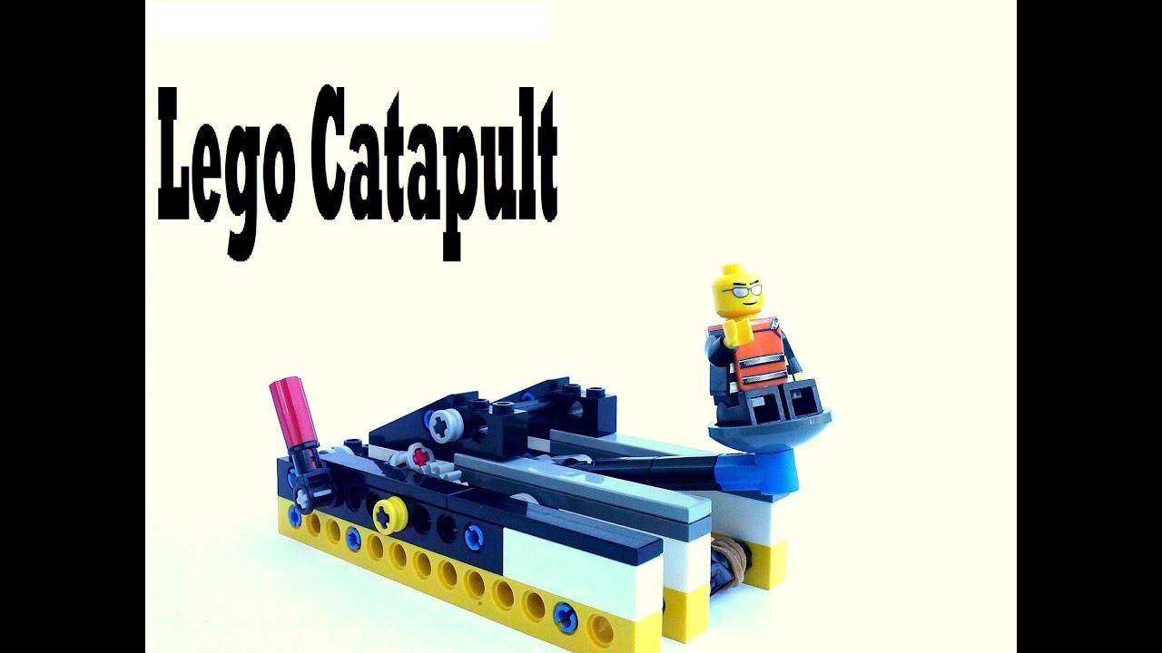 Lego Catapult Youtube