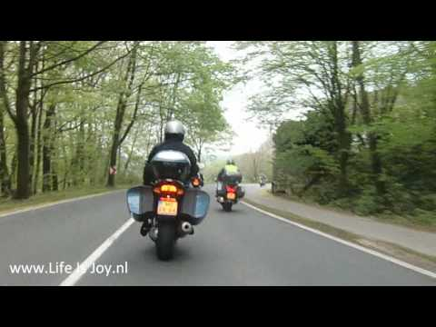 Theo on BMW K1200GT motorcycle in Sauerland Germany