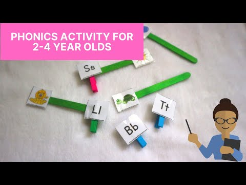 Fun Phonics Activities for the Preschooler