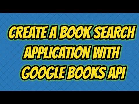 Google Books API Example - Book Search Application