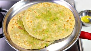 ठंडी के मौसम में बनाए गरम गरम हरे मटर के स्वादिस्ट पराठे आसान तरीके से |Matar Paratha|KabitasKitchen