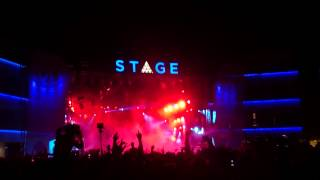 Steve Aoki at Stage BH Mallorca 16th June 2015