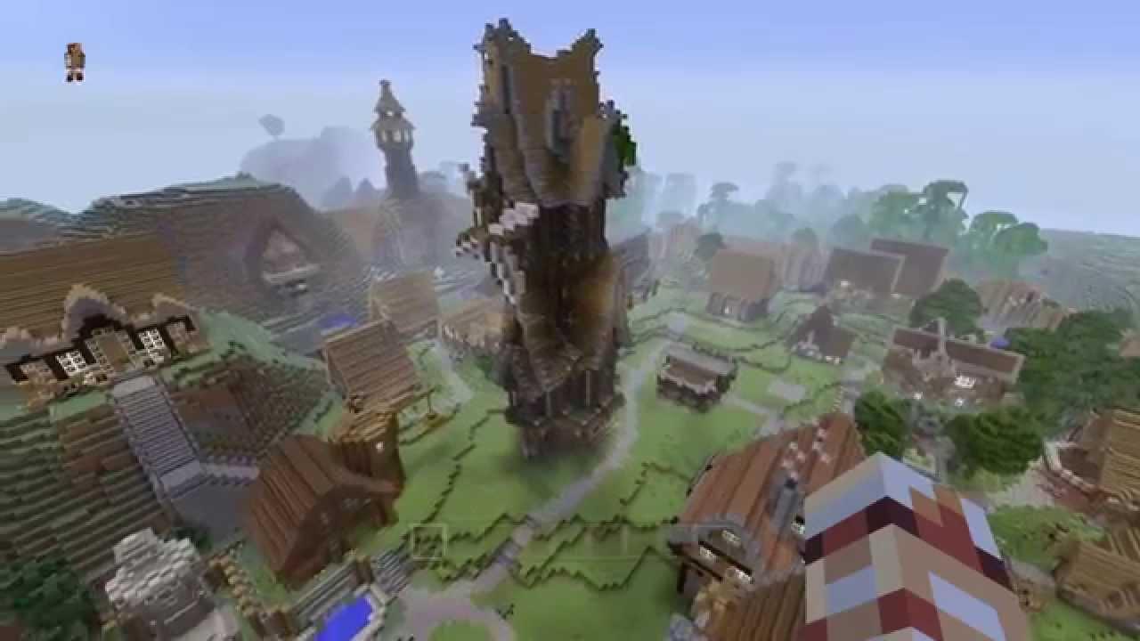 Présentation Tour Médiéval Minecraft