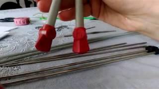 как научиться вязать спицами/уроки вязания спицами/ вязание для начинающих/вязание с нуля