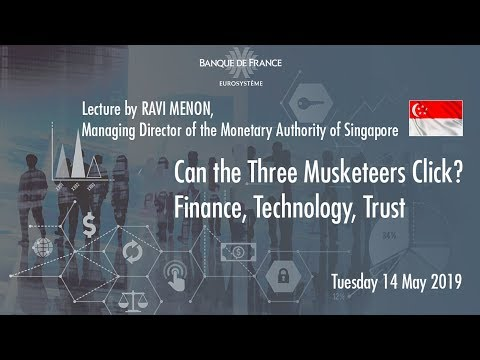 Can the Three Musketeers Click?  Finance, Technology, Trust