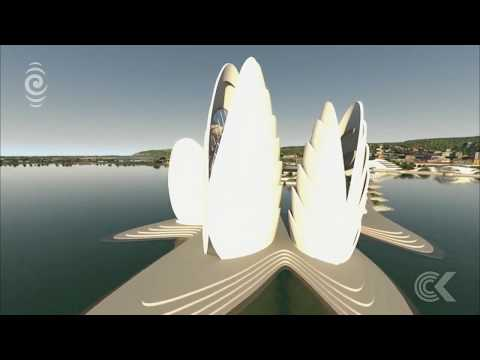 Architect's ambitious plan for Dunedin shows anything is possible