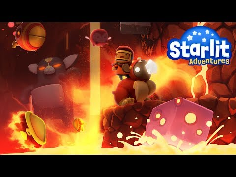Starlit Adventures PS4 Trailer