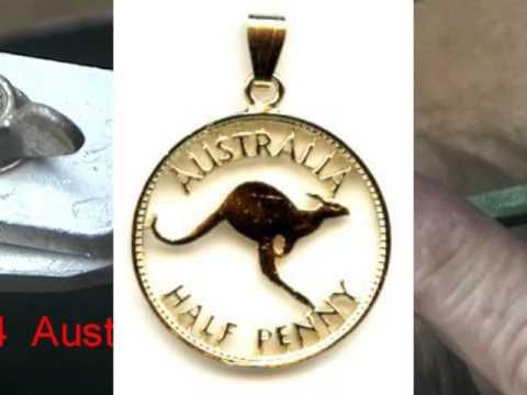 Münzensäger Baur Filigranmünztechnik Münzen Werden Von Hand