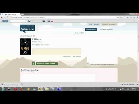 How To Dowload And use Subtitle For A Movie - YouTube