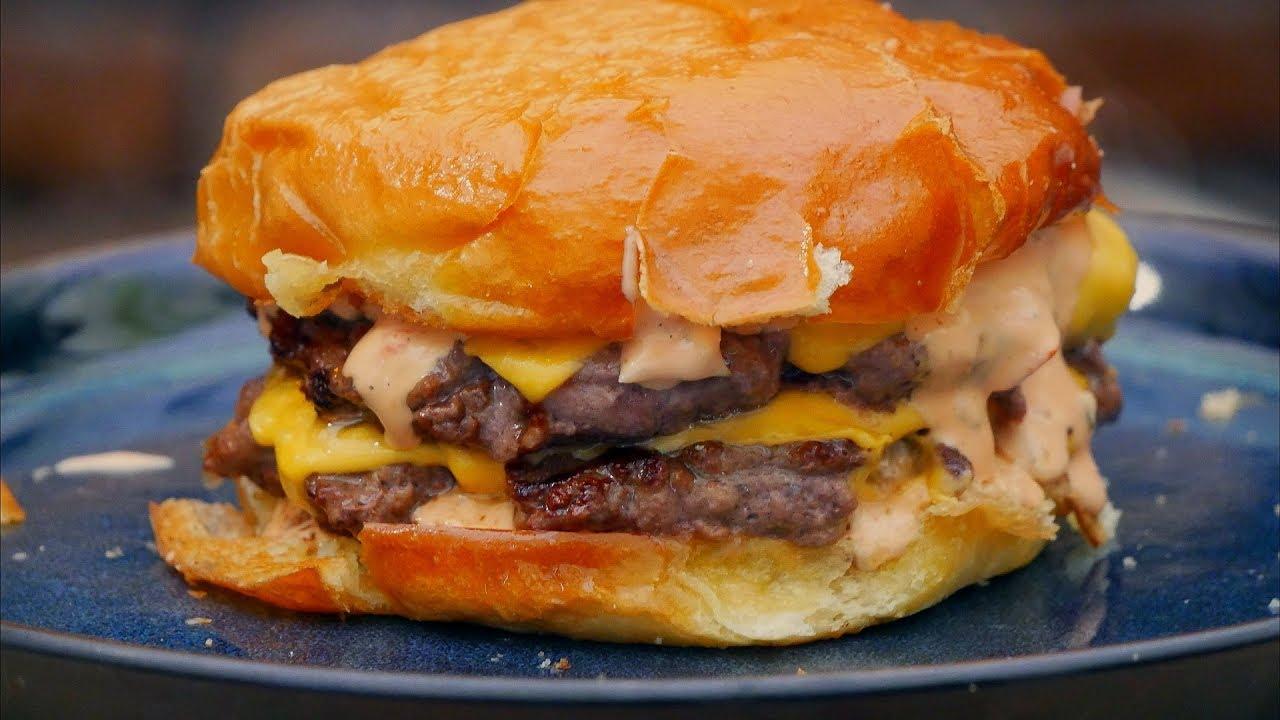 The Best Burger I made in 15 min / Oddaszfartucha