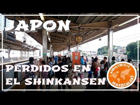 Perdidos en el Shinkansen - Tren Bala de Tokio a Kyoto - VIAJE A JAPÓN CAPITULO 9