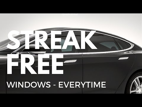 How To: The Ultimate Guide To Streak Free Windows