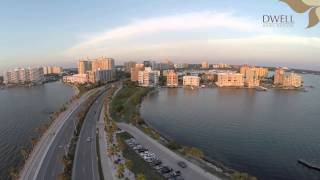 Downtown Sarasota, Florida Drone Video