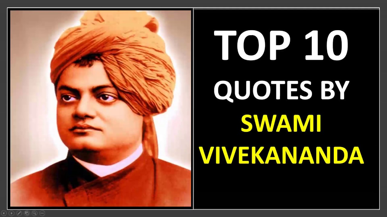 Top 10 Swami Vivekananda Quotes In English And Hindi For Students