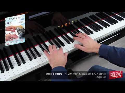 He's A Pirate - LE PIANO Pour Les 9-15 Ans