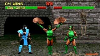 Mortal Kombat 2 arcade Sub Zero 60 FPS Gameplay Playthrough thumbnail