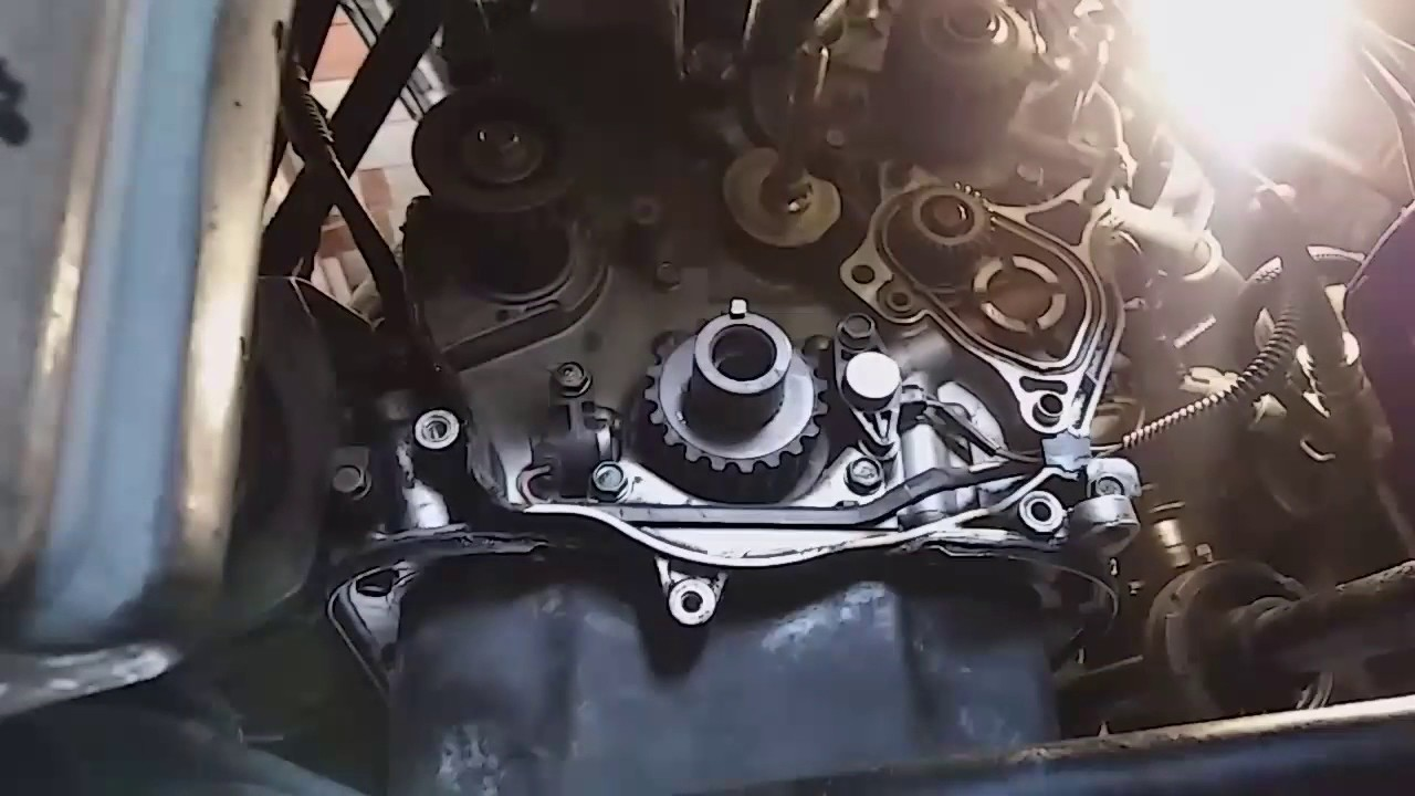 honda accords  change balancer shaft seal youtube