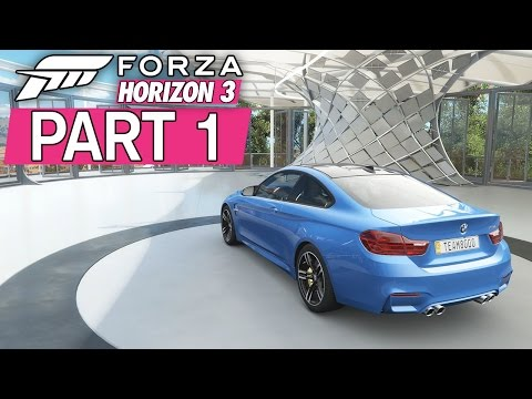 """Forza Horizon 3 - Let's Play - Part 1 - """"Welcome To Australia, Off The Chain Showcase"""""""
