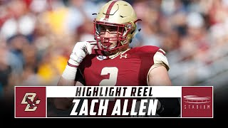 Zach Allen Boston College Football Highlights - 2018 Season | Stadium