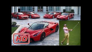 Ian Poulter's Extremely Luxurious Car Collection.