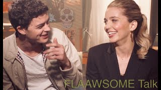Jessica Rothe & Israel Broussard (HAPPY DEATH DAY) On What They Feel About Walks Of Shame 😂