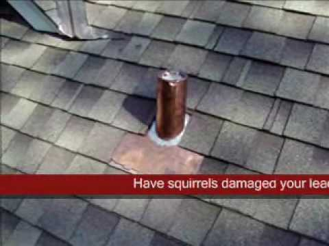 Replacing Damaged Plumbing Vent Flashing Using New Copper