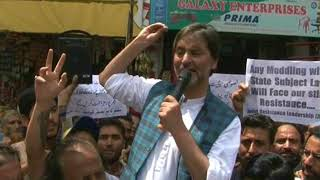 Video: Article 35-A Row: Kashmir being made Palestine, says Yasin Malik