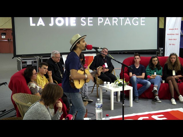 Croq la vie,  Vinz le Mariachi dans l'émission de RCF