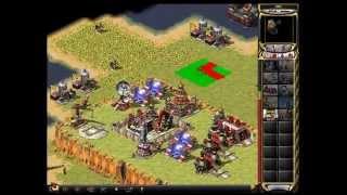 Command & Conquer Red Alert 2 - 1v1 Lan - Naval Battle!
