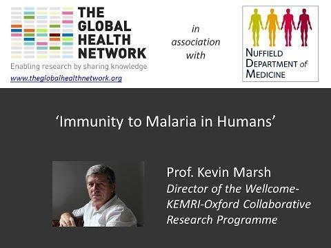 Prof. Kevin Marsh - 'Immunity to Malaria in Humans'