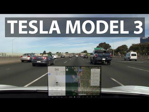 Tesla Model 3 first drive