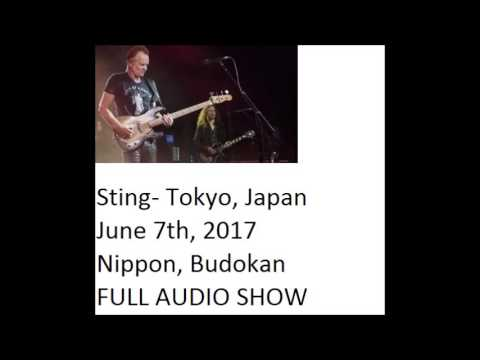 "Sting- Tokyo, JP, ""Nippon Budokan"", 6-07-2017 (FULL SHOW)"