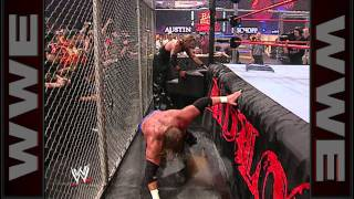 Triple H and Kevin Nash go to war inside a Hell in a Cell