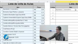 Excel Avançado: Função PROCV