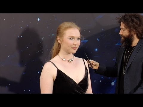 "Molly C. Quinn ""Guardians Of The Galaxy Vol 2"" World Premiere"