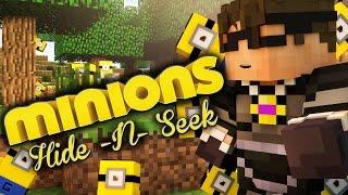 Minecraft MINIONS HIDE N SEEK 2!