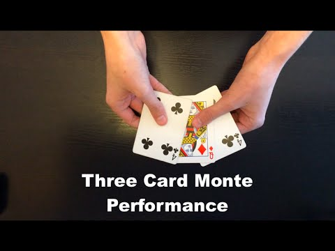 Three Card Monte By Andrew Kelly Performance