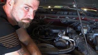 Is the Blazer engine trashed?