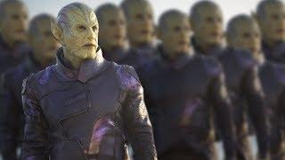 Is Captain Marvel Setting Up for the Skrull Invasion? - One Shot