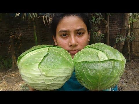 Bandhakopir Jhol Recipes | Bengali Recipe | Cabbage Curry Cooking By Street Village Food