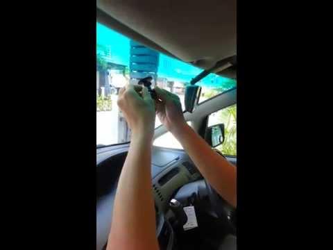 วิธีการติดตั้งกล้องติดรถยนต์ by v.ink